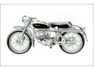 Легендарные мотоциклы Husqvarna