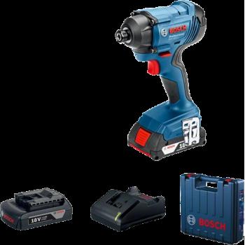 Акумуляторний ударний дриль/гайковерт GDX 180-Li Professional Bosch (Бош, 06019G5223)