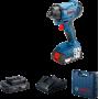 Аккумуляторная ударная дрель / гайковерт GDX 180-Li Professional Bosch (Бош, 06019G5223)