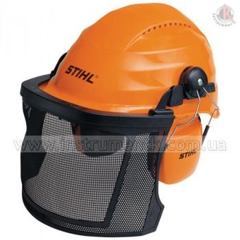 Шлем защитный Stihl с сеткой и наушниками (Штиль)