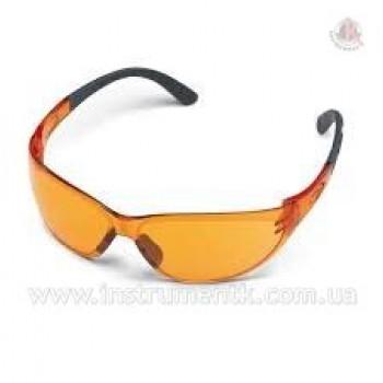 Очки защитные Contrast оранжевые STIHL (Штиль)
