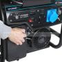 Бензиновый генератор Hyundai HHY 10050FE,Хюндай (HHY 10050FE)